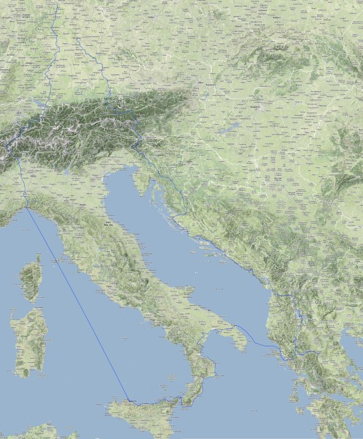 Rollertour2013-Daten-Route